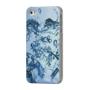 Blue Water Drop iPhone 4 4S Hard Case Cover