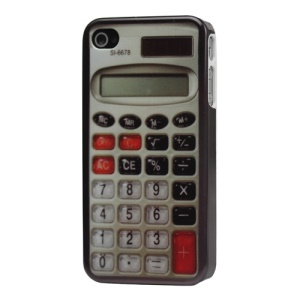 Classical Calculator Hard Case Cover for iPhone 4 4S