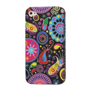 Colorized TPU Gel Case Cover for iPhone 4 4S