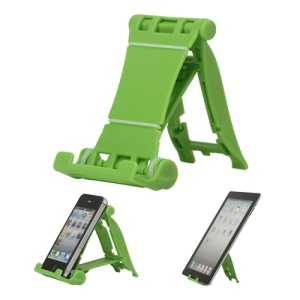 Portable Multi-angled Stand Holder for The New iPad iPhone 4S iPod Touch HTC One X - Green