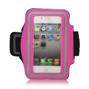 Gym Running Sport Armband Case for iPhone 4 4S - Rose