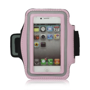 Gym Running Sport Armband Case for iPhone 4 4S - Pink