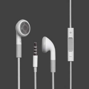 Earphone Headset with Remote and Mic for iPhone 4 4S with Packaging