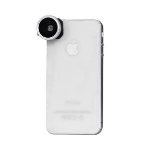 180 Degree Fish Eye Lens for iPhone 4 4S iPad 2 The New iPad F8002