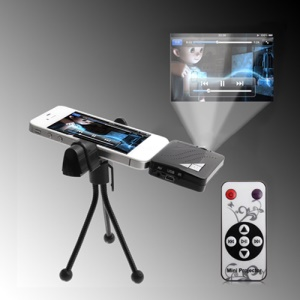 Mini Projector for iPhone 4S 4 3GS 3G iPod iPad 2 3