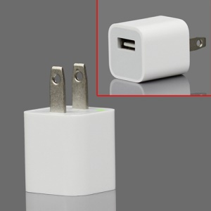 Original Material Apple iPhone/iPod USB Power Adapter A1265 - US Plug