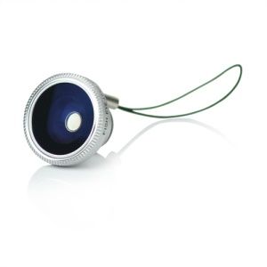 180 Degree Fish-Eye Conversion Lens with Magnet Mount for iPhone 4 4S iPad 2