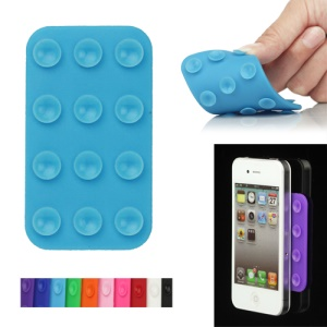 Dual Side Suction Cup Silicone Sucker Mat for iPhone HTC Samsung and etc