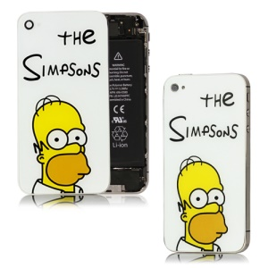 The Simpsons Back Cover Housing Replacement for iPhone 4S