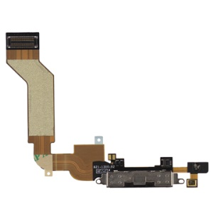 iPhone 4S Dock Connector Charging Port Flex Cable Ribbon Original - Black