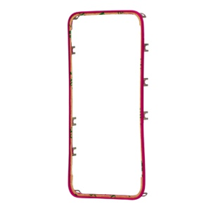Plastic Touch Screen Frame Digitizer Bezel for iPhone 4S - Rose