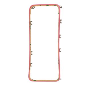 Plastic Digitizer Touch Screen Frame Bezel for iPhone 4S - Pink