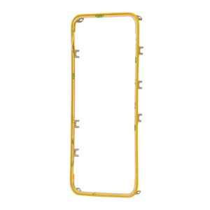 Plastic Touch Screen Digitizer Bezel Frame for iPhone 4S - Yellow