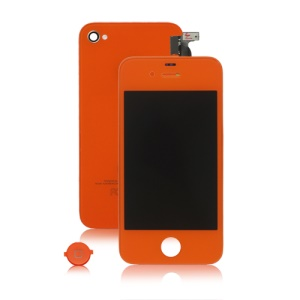 iPhone 4S Conversion Kit (LCD Assembly + Housing + Home Button) - Brownish Red