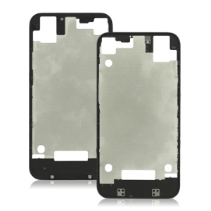 Apple iPhone 4S Back Cover Frame Bezel Repair Parts Original - Black