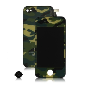 Camouflage iPhone 4S Conversion Kit (LCD Assembly + Back Housing + Home Button)