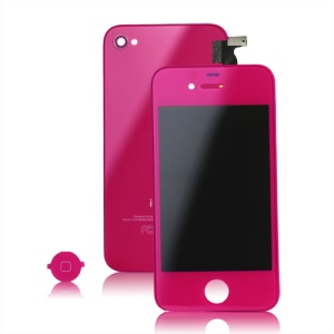 iPhone 4S Conversion Kit (LCD Assembly + Back Housing + Home Button) - Rose