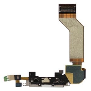 iPhone 4S Dock Connector Charging Port Flex Cable Ribbon Original - White