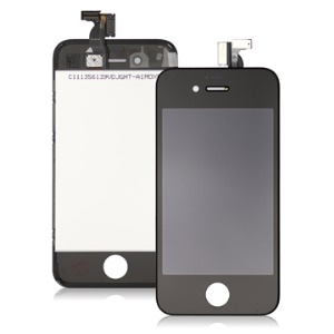 For Apple For iPhone 4S LCD and Touch Screen Replacement OEM Black