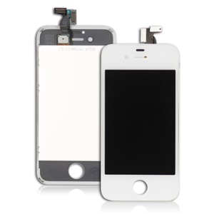 For Apple For iPhone 4S LCD and Touch Screen Replacement OEM White