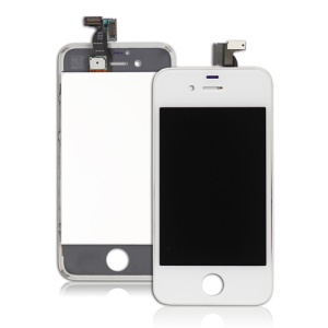 iPhone 4S LCD Touch Screen Digitizer Assembly - White