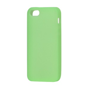 Soft Silicone Case Cover for iPhone 5 5s (6th Generation) - Light Green