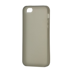 Soft Silicone Case Cover for iPhone 5 (6th Generation) - Grey