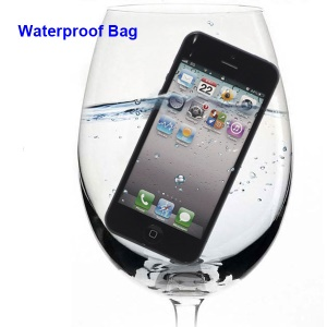 Waterproof Screen Protector Guard Bag for iPhone 5