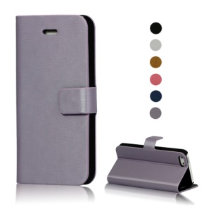 Wallet Leather Flip Case Accessories for iPhone 5 5s;Dark Blue