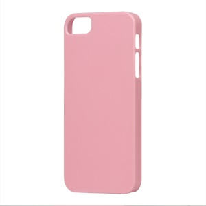 Glossy Slim Hard Plastic Case for iPhone 5 - Pink
