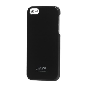 Ultra Thin Slim Glossy Hard Case for iPhone 5 - Black