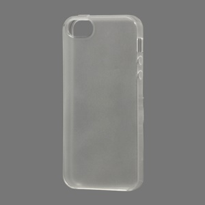 Gloosy TPU Gel Case Cover for iPhone 5 (6th Generation) - Transparent