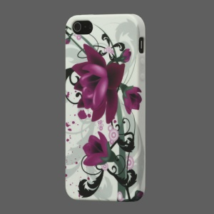 Beautiful Lotus TPU Cover for iPhone 5