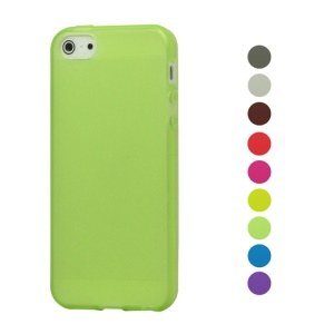 Frosted TPU Cover Case for iPhone 5 5s
