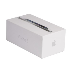 High Quality Packing Box for iPhone 5 - White