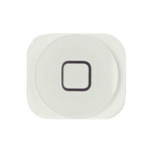 Home Button Key Replacement Parts for iPhone 5 - White