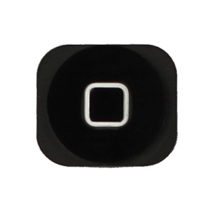 Home Button Key Repair Parts for iPhone 5 - Black