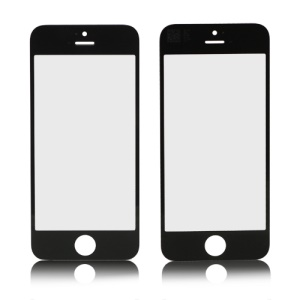Front Screen Glass Lens Replacement for iPhone 5 OEM - Black