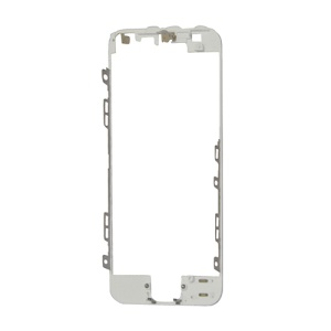 Touch Screen Bezel Mounting Frame Replacement for iPhone 5 - White