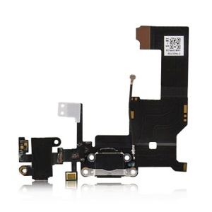 Dock Connector Charging Port and Headphone Jack Flex Cable for iPhone 5
