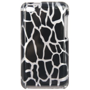 Snap-on Spot Pattern Hard Plastic Case for iPod Touch 4