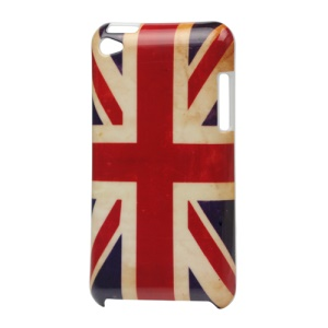 iPod Touch 4 Hard Case Cover Retro Union Jack Flag