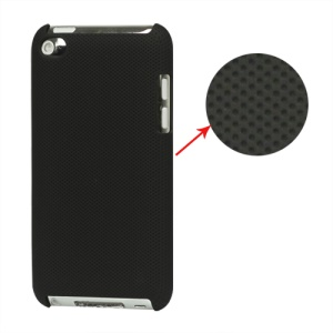 Dream Mesh Hard Plastic Case Cover for iPod Touch 4 4th 4G - Black