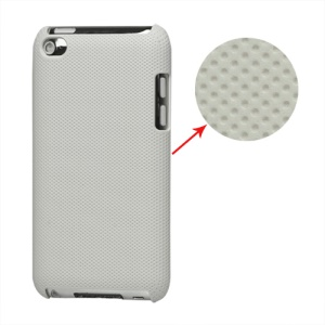 Dream Mesh Hard Plastic Case Cover for iPod Touch 4 4th 4G - White