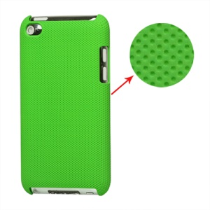 Dream Mesh Hard Plastic Case Cover for iPod Touch 4 4th 4G - Green
