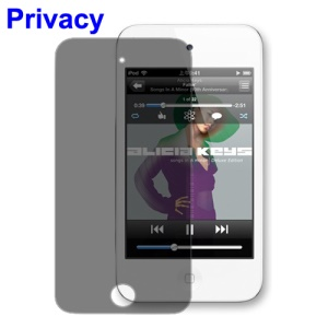 Privacy Screen Protector Guard for iPod Touch 4