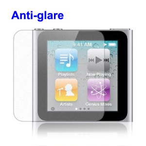 Professional Anti-Glare iPod Nano 6th Screen Protector