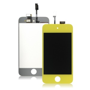 iPod Touch 4 4th LCD and Touch Screen Digitizer - Yellow