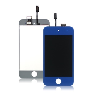 iPod Touch 4 4th LCD Assembly with Touch Screen Digitizer - Dark Blue