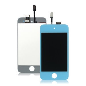 iPod Touch 4 4th LCD Display and Touch Screen Digitizer - Baby Blue